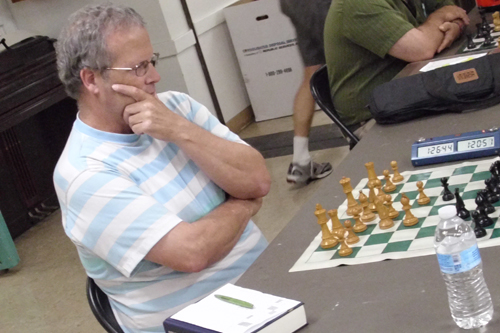 Craig Faber, winner of the Istvanyi Open. Is that a London System, Craig?