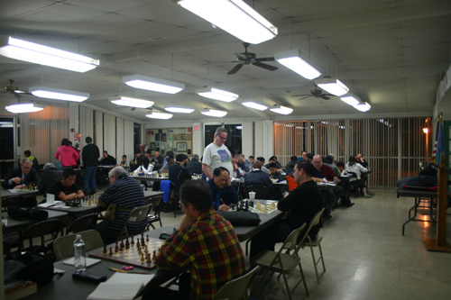 The Winter Open gets underway with a big turnout for round 1.