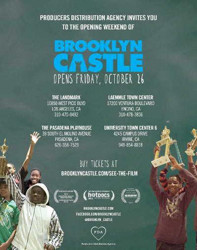 Arcadia Chess Club Brooklyn Castle Movie Opening In La